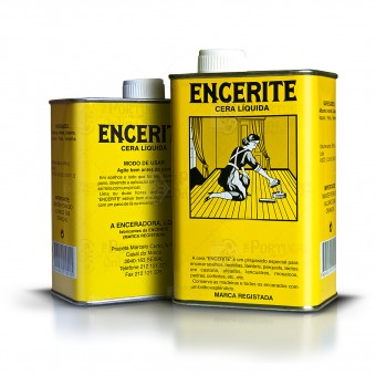 Encerite polish Wax - Liquid can 500cc