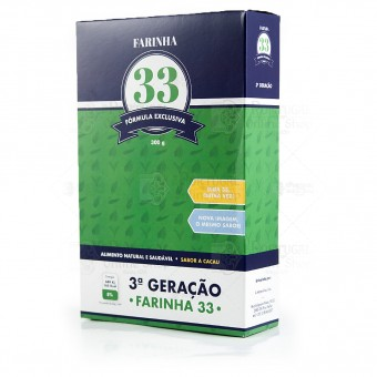 Farinha 33 - Healthy Food Chocolate Cereals Flour - 300g