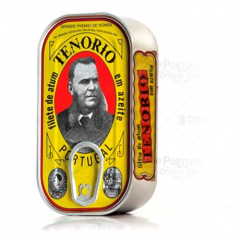 Tenório Canned Tuna Fillet in Olive Oil - Azores - 120g