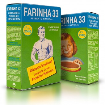 Farinha 33 - Healthy Food Chocolate Cereals Flour - 250g