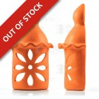 Terracotta Clay Chimney  Wall Light - Algarve