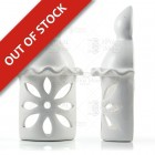 White Ceramic Chimney Wall Light - Algarve