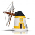 Traditional Portugal Windmill Algarve Alentejo Collectable