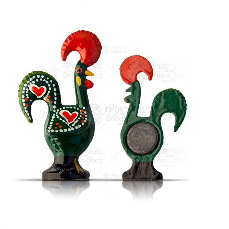 Galo Barcelos Good Luck Rooster Iron Kitchen Fridge Magnet