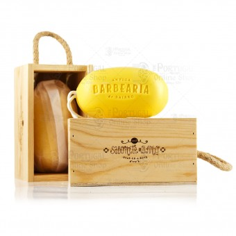 Antiga Barbearia de Bairro - Soap On a Rope - 350g
