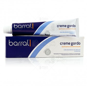 Barral Creme Gordo - Cold Cream Moisturizer - 80g