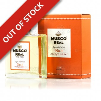 Musgo Real Cologne Nº 1 - Orange Amber - Claus Porto - 100ml