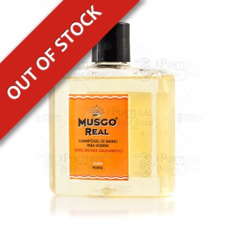Musgo Real Shampoo & Shower Gel Orange Amber- Claus Porto - 250ml