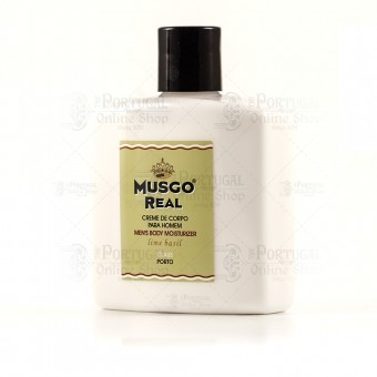 Musgo Real Body Cream Lime Basil - Claus Porto - 250ml