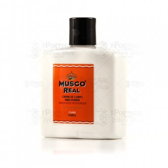 Musgo Real Body Cream Orange Amber - Claus Porto - 250ml