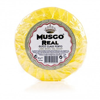 Claus Porto - Musgo Real Glyce - Lime Basil - Oil Soap - 165gr