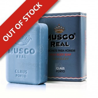 Musgo Real Men's Body Soap - Lavender - Claus Porto - 160g