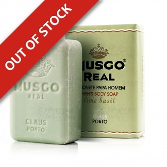 Musgo Real Men's Body Soap - Lime Basil - Claus Porto - 160g