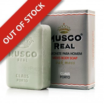 Musgo Real Men's Body Soap - Oak Moss - Claus Porto - 160g