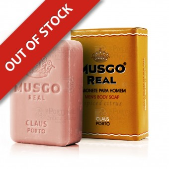 Musgo Real Men's Body Soap - Spiced Citrus - Claus Porto - 160g