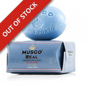 Musgo Real Men's Body Soap On A Rope Lavender - Claus Porto - 190g