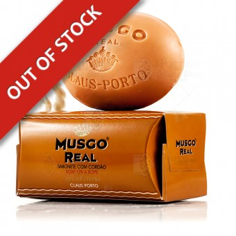 Musgo Real Men's Body Soap On A Rope Spiced Citrus - Claus Porto - 190g