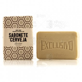 Sovina Hydrating Amber Beer Soap Honey Aroma - 100g