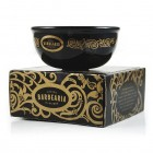 Antiga Barbearia de Bairro Black and Gold Porcelain Shaving Bowl