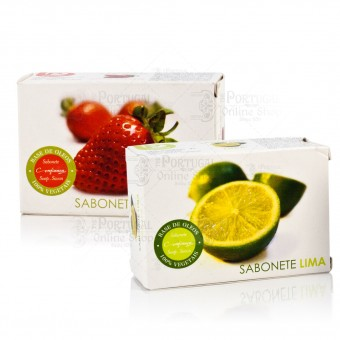 Confiança Lime / Strawberry Soap 100g