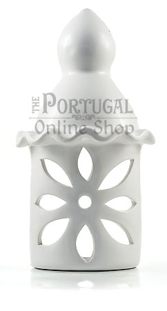 Traditional Algarve White Ceramic Terracotta Chimney Wall Lights - Chaminés de barro ceramica típicas do Algarve - www.theportugalonlineshop.com