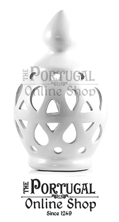Traditional Algarve White Round Ceramic Terracotta Chimney Wall Lights - Chaminés de barro ceramica típicas do Algarve - www.theportugalonlineshop.com