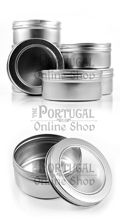 Aluminium Tin Can Soap Cosmetic Spices Candles Container Shaving Soap Box Screw Lid 150ml - ThePortugalOnlineShop