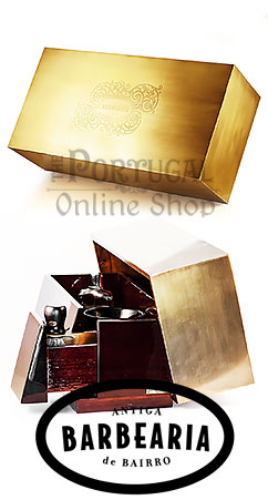Antiga Barbearia de Bairro Bateye - Tesouro Treasure Luxury Shaving Box - Tesouro Caixa Luxo Barbear -  www.ThePortugalOnlineShop.com