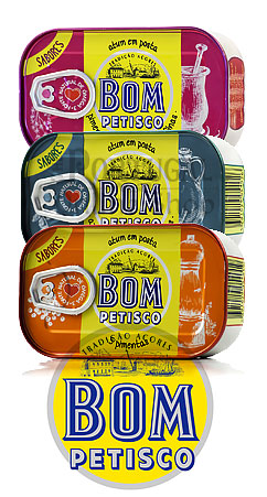 Bom Petisco Solid Tuna Fish vegetable oil 5 peppers atum em posta oleo vegetal 5 pimentas - www.theportugalonlineshop.com
