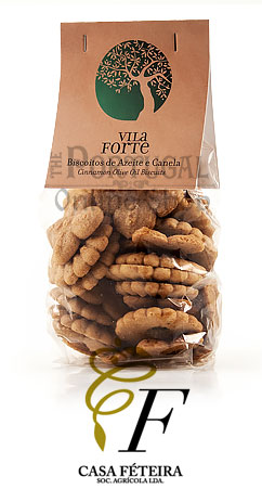 Vila Forte Cinnamon Olive Oil Biscuits Biscoitos de Canela e Azeite - www.theportugalonlineshop.com