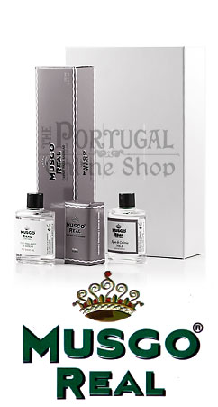 Claus Porto Musgo Real White Gift Box Shave Set Caixa Oferta Grande - ThePortugalOnlineShop