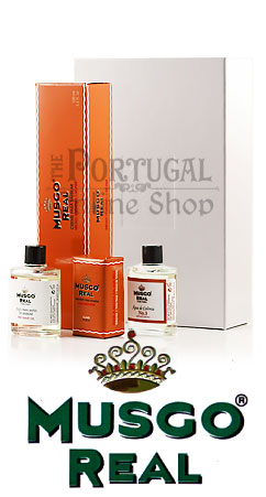 Claus Porto Musgo Real White Gift Box Shave Set Caixa Oferta Branca - ThePortugalOnlineShop