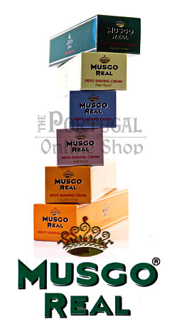 Claus Porto Musgo Real - Men's Shave Cream Shaving 100ml - ThePortugalOnlineShop
