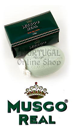 Claus Porto Musgo Real - Soap on a Rope 190g - ThePortugalOnlineShop