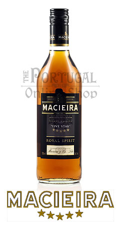 Macieira Five Star Royal Brandy Spirit Aguardente  - ThePortugalOnlineShop.com