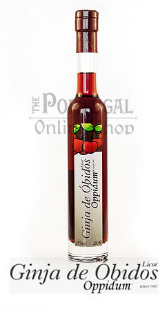 Ginja de óbidos 200ml ginjinha sem elas oppidum bottle morello cherry berry liqueur without fruit