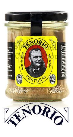 Tenorio Filetes de atum em azeite - tuna fillets in olive oil - www.theportugalonlineshop.com