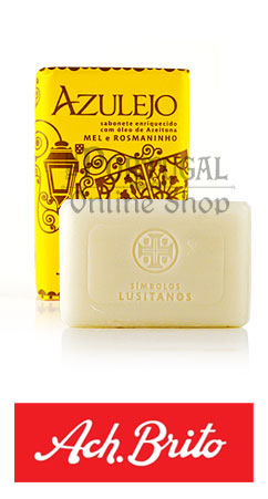 """Simbolos Lusitanos"" Collection - Azulejo honey rosemary mel rosmaninho - 75g - Ach Brito - ThePortugalOnlineShop"
