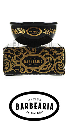Antiga Barbearia de Bairro Black and Gold Porcelain Shaving bowl Taça de barbeiro porcelana -  www.ThePortugalOnlineShop.com