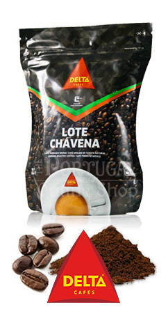 Delta Cafés - Roasted Coffee - Whole Beans and Ground coffee - Café Torrado Moído e em Grão -  www.ThePortugalOnlineShop.com