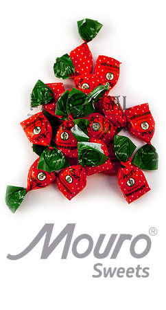 Mouro Strawberry Filled Drops - Drops com recheio de Morango - ThePortugalOnlineShop