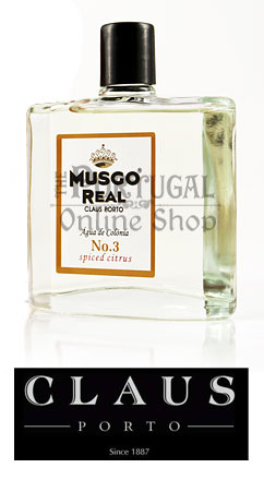 Claus Porto Musgo Real - Cologne nº3 - Spiced Citrus - ThePortugalOnlineShop