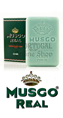 Claus Porto Musgo Real - Men's Body Soap 160g - ThePortugalOnlineShop